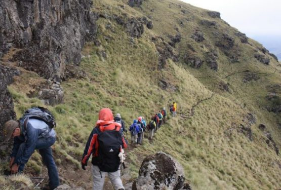 Trekking in Ethiopia at Simien Mountains